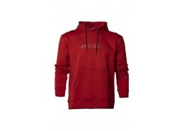 Erkek Kırmızı Kapüşonlu Sweatshirt (MPH3144-CHR)