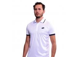 Court Pl Erkek Beyaz Polo Yaka Tişört