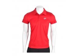 Enzo Erkek Polo Yaka Kırmızı Spor Tişört