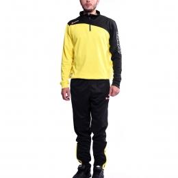 Suit Solista II Hz Pl Erkek Sarı Siyah Eşofman Takımı