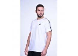 Lotto Print Erkek Beyaz Spor Tişört