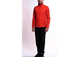 Senzo Suit Fz Pl Erkek Kırmızı Siyah Eşofman Takımı