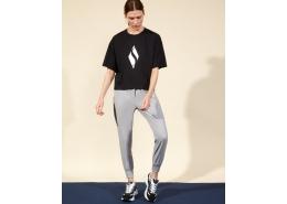 Skechers Graphic Kadın Siyah Tişört (S211159-001)