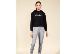 2Xi-Lock Kadın Siyah Sweatshirt (S211298-001)