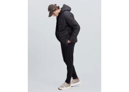 Panel Hooded Jacket Erkek Siyah Mont (S212041-001)