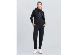 Skechers Big Logo Kadın Siyah Sweatshirt (S212053-001)