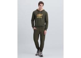Summits Full Zip Erkek Yeşil Sweatshirt (S212406-801)