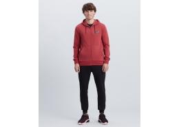 Summits Full Zip Erkek Kırmızı Sweatshirt (S212407-621)