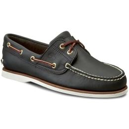 Classic Boat 2 Eye Erkek Siyah Günlük Ayakkabı