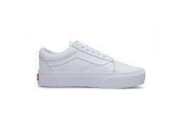 UA Old Skool Platform Kadın Beyaz Ayakkabı