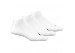 Performance No-Show Beyaz 3'lü Spor Çorap (AA2311)