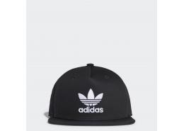 Trefoil Snap-Back Siyah Şapka