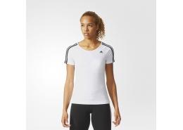 Basic 3S Kadın Beyaz Antrenman Tişörtü