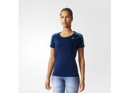 Basic 3S Kadın Lacivert Antrenman Tişörtü