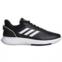 Courtsmash Erkek Siyah Tenis Ayakkabısı (F36717)