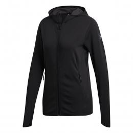 adidas FL CC Kadın Siyah Fermuarlı Sweatshirt