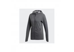adidas FL CC Kadın Gri Fermuarlı Sweatshirt
