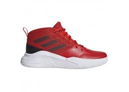 Own the Game Wide Çocuk Kırmızı Basketbol Ayakkabısı (EF0306)