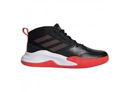 Own the Game Wide Çocuk Siyah Basketbol Ayakkabısı (EF0309)