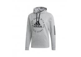 adidas Sport ID Erkek Gri Kapüşonlu Sweatshirt