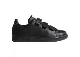 Stan Smith Çocuk Siyah Spor Ayakkabı (M20606)