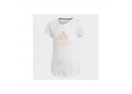Must Haves Badge of Sport Çocuk Beyaz Tişört (GE0959)