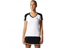 Club Kadın Beyaz Tenis Tişörtü