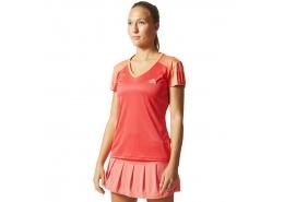 Club Kadın Kırmızı Tenis Tişörtü
