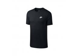 Nike Sportswear Club Erkek Siyah Tişört (AR4997-013)