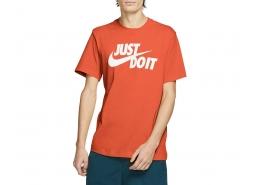 Nike Just Do It Erkek Turuncu Tişört (AR5006-842)