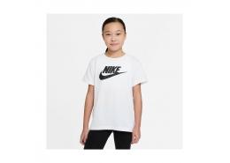 Sportswear Basic Futura Çocuk Beyaz Tişört (AR5088-112)