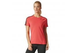 Design 2 Move 3 Bantlı Kadın Pembe Tişört