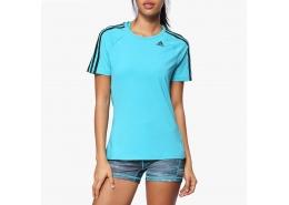 Design 2 Move 3 Bantlı Kadın Mavi Tişört
