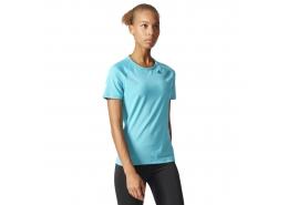 Design 2 Move Kadın Mavi Antrenman Tişörtü