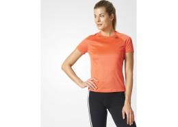 Design 2 Move Kadın Turuncu Antrenman Tişörtü
