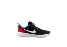 Revolution 5 Çocuk Siyah Koşu Ayakkabısı (BQ5672-020)