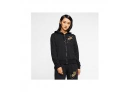 Sportwear Kadın Siyah Kapüşonlu Sweatshirt (BV4556-010)