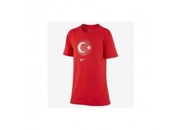 Nike Türkiye Çocuk Kırmızı Futbol Tişört (CD1490-657)