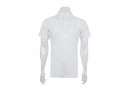 Climachill Polo Yaka Erkek Beyaz Tişört