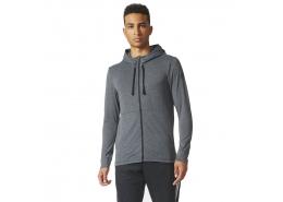 adidas Workout Fz Lite Erkek Gri Antrenman Sweatshirt