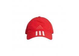 C40 3 Bantlı Climalite Kırmızı Şapka