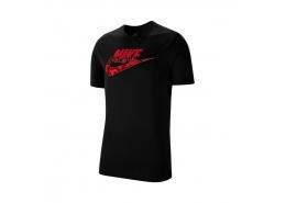 Nike Sportwear Camo Erkek Siyah Tişört (CK2330-011)