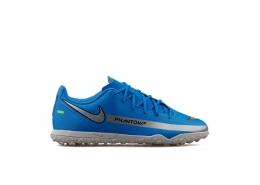 Jr. Phantom Gt Club Tf Çocuk Mavi Halı Saha Ayakkabısı (CK8483-400)