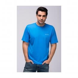 Zero Rules Mavi Erkek Yuvarlak Yaka Tişört