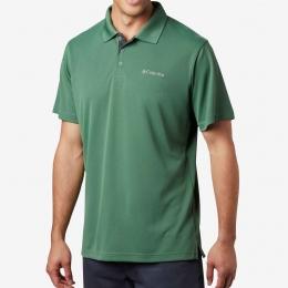 Utilizer Erkek Yeşil Polo Tişört