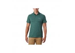 Tech Trail Erkek Yeşil Polo Tişört