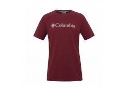 Csc Basic Logo Erkek Bordo Tişört