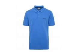 Cascade Range Solid Erkek Mavi Polo Yaka Tişört