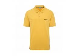 Cascade Range Solid Erkek Sarı Polo Yaka Tişört