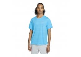Nike Dri-FIT Miler Erkek Mavi Koşu Tişörtü (CU5992-447)